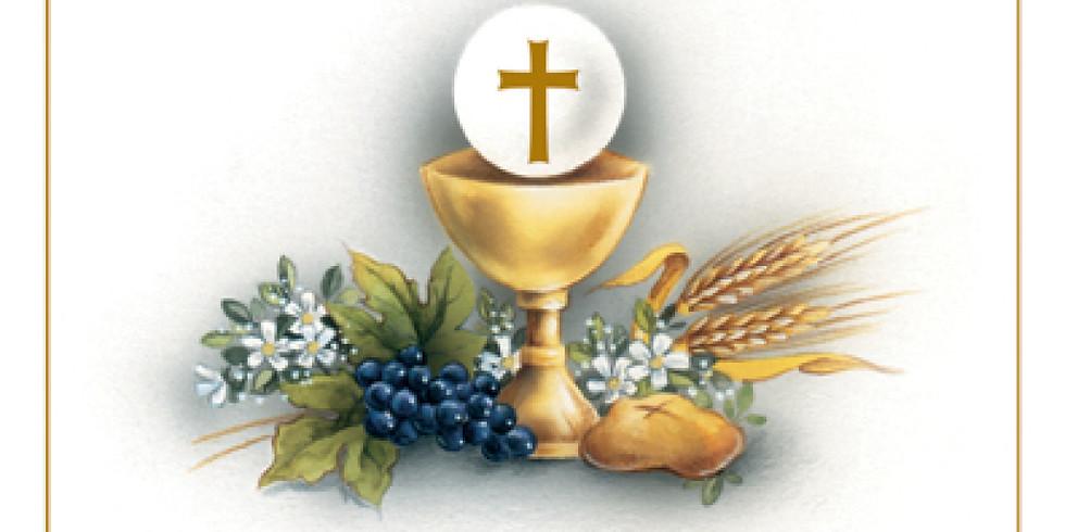 First Aniversary of the First Holy Communion | Rocznica Pierwszej Komunii Św.