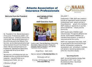 AAIP Newsletter | August 2017