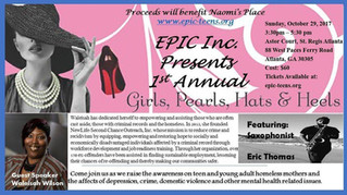 MAG Violence supports Epic, Inc for the 1st Annual Girls, Pearls, Hats & Heels