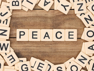 Created To Love Blog: Peace Like None Other