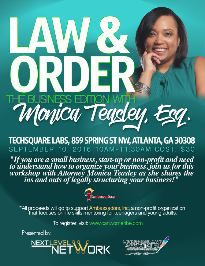 Law & Order: The Business Edition