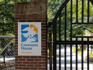 First, we serve! | AAIP at Covenant House Atlanta