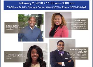 AAIP Members present at GSU's Career Secrets Revealed! | February 2, 2018