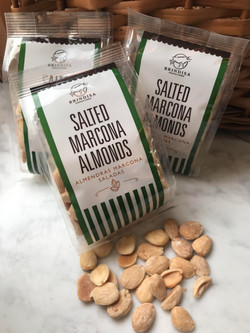 Salted Marconia Almonds