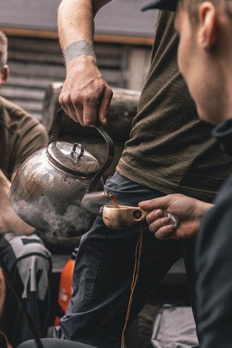 Arctic Coffee Moment