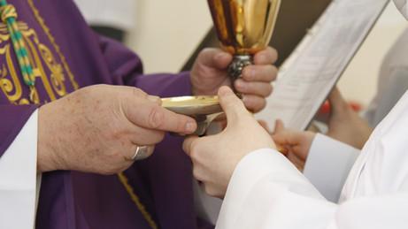 У семінарыі з'явіліся новыя акаліты і кандыдат да святарства