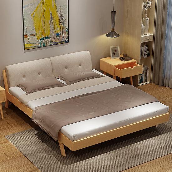 GOBF07-Solid wood Bed Frame