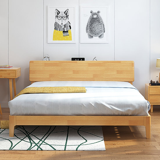 GOBF06-Solid wood Bed Frame
