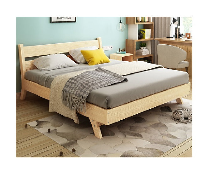 GOBF04-Solid wood Bed Frame