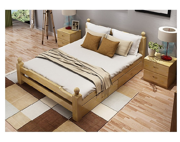 GOBF05-Solid wood Bed Frame
