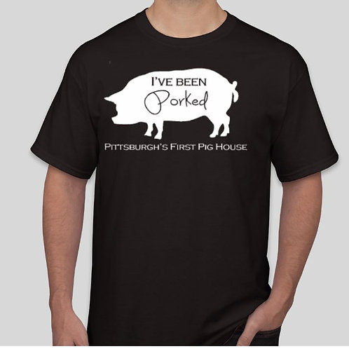 I've Been Porked: Black with White Lettering