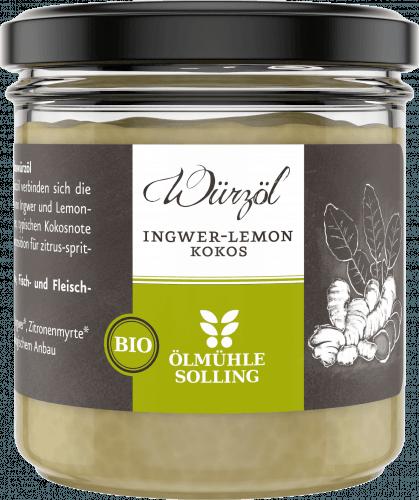 Ingwer-Lemon Kokoswürzöl 100g