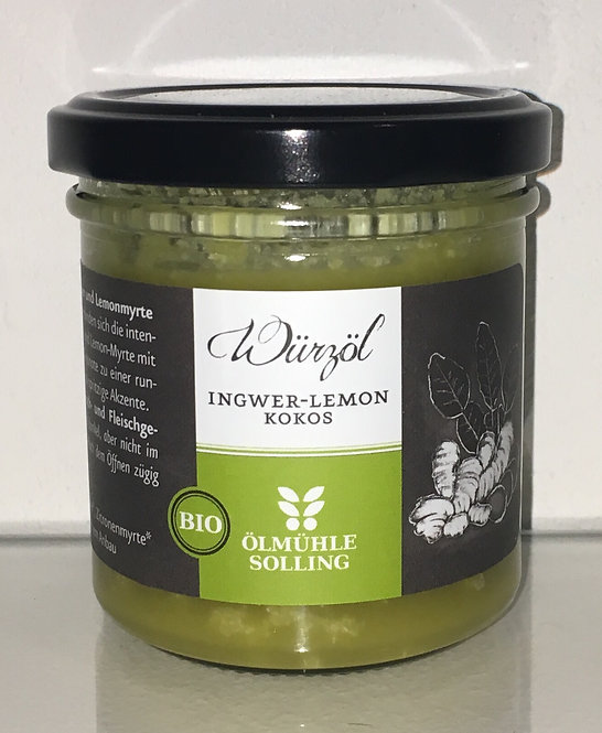 Ingwer-Lemon Kokoswuerzoel oelmuehle solling