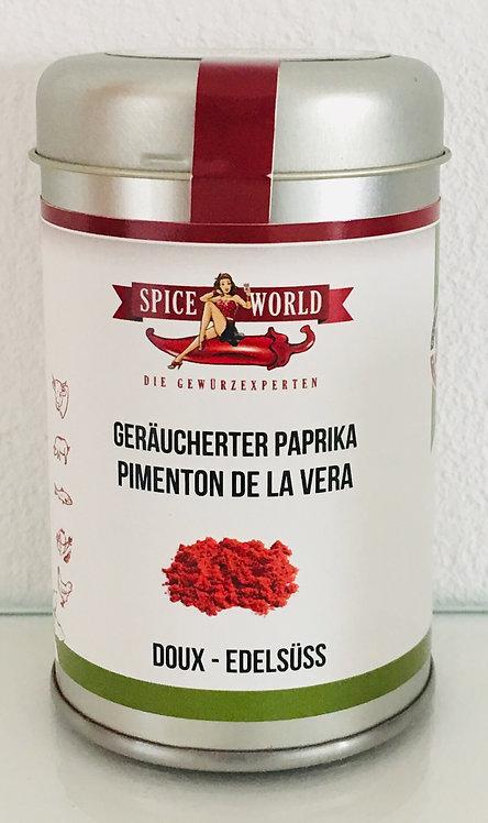 Geraeucherter Paprika in Metalldose