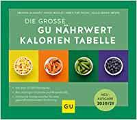 GU Nährwert Kalorien Tabelle