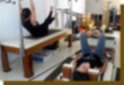 Alunas do Pilates Ponto Norte em aulas no Cadilac e no Reformer