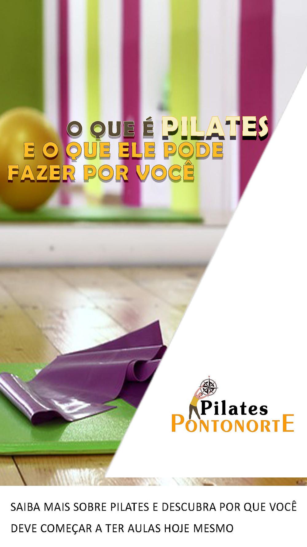 e-book O que é Pilates e o que ele pode fazer por você - Pilates Ponto Norte