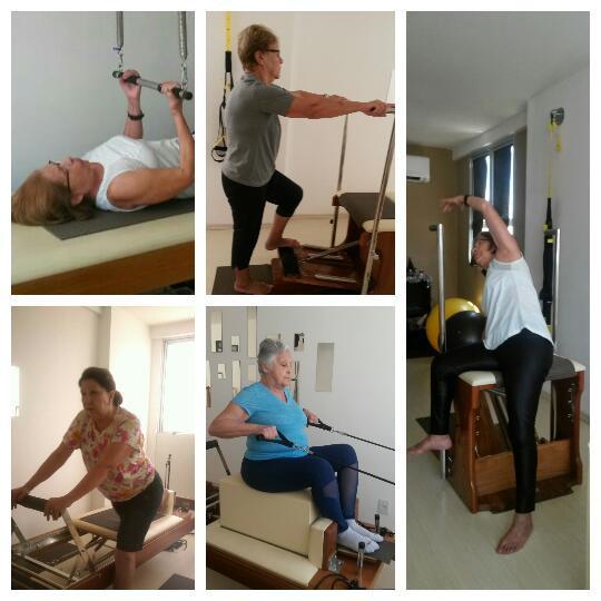 Terceira Idade e Pilates - Blog - Alunas Pilates Ponto Norte