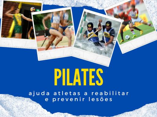 Pilates ajuda atletas a reabilitar e prevenir lesões