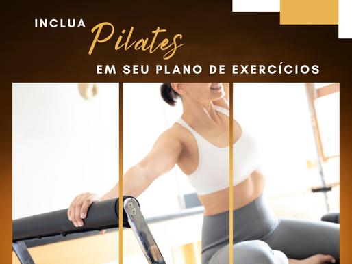 Inclua Pilates em seu plano de exercícios