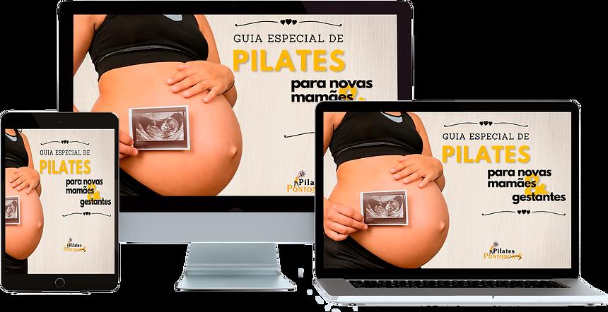 e-book - guia de pilates para gestantes.