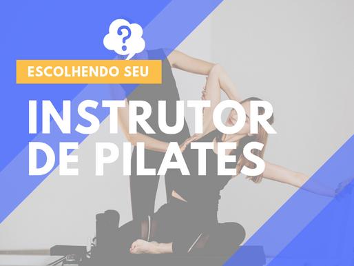 Escolhendo seu instrutor de Pilates