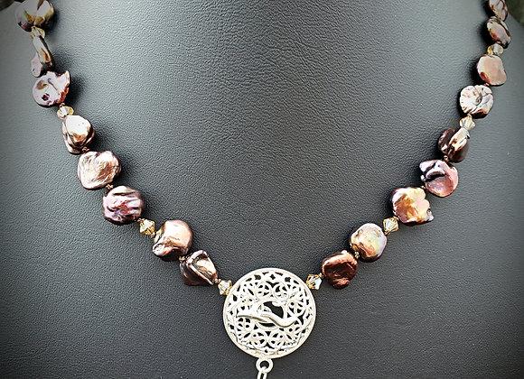 Bronze Keishi Pearls