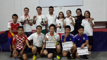 ZAPA Shuttlers Badminton Tournament