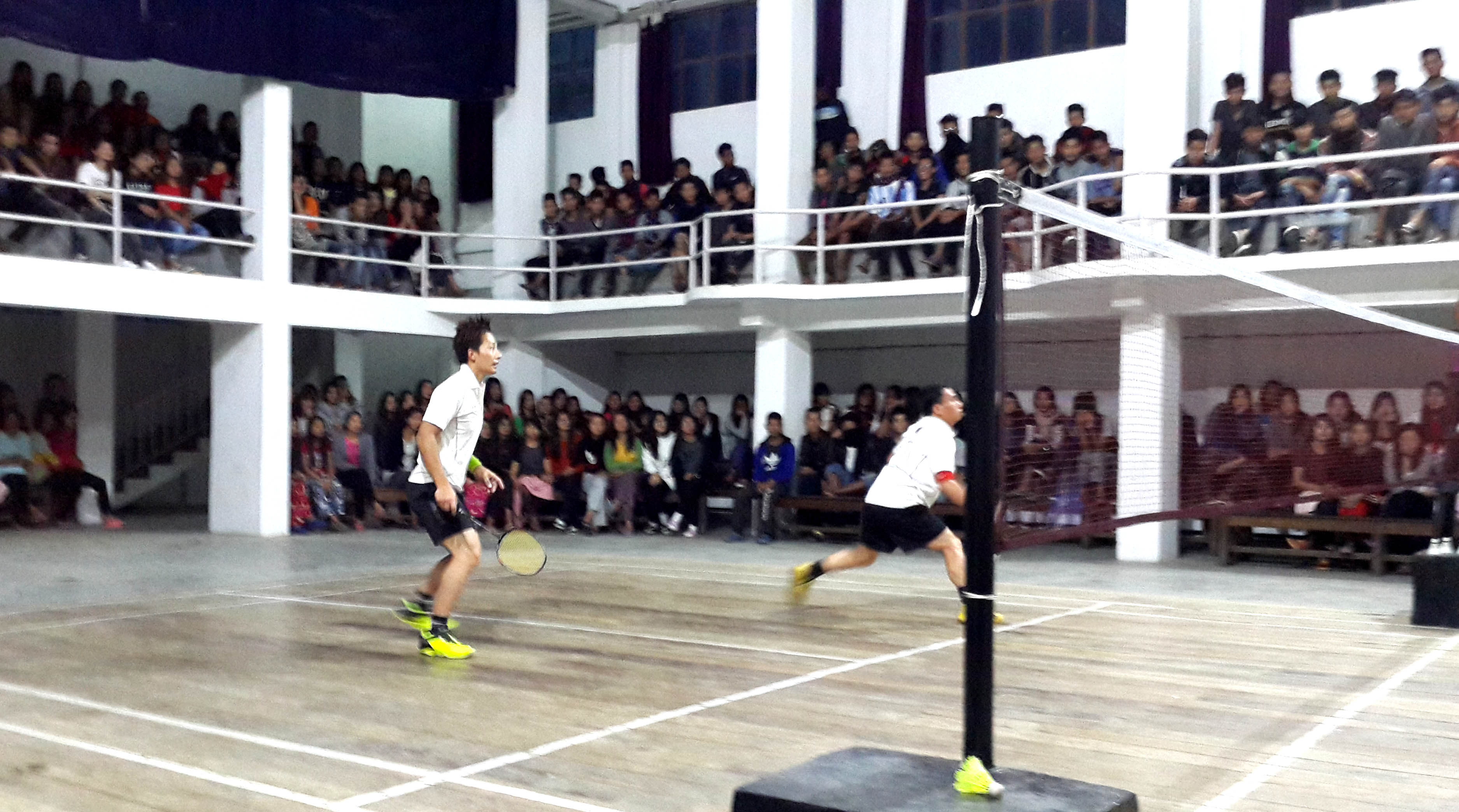 ZAPA Badminton Stadium