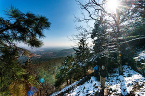 Rim Trail at Mount Nebo State Park Restored