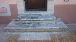 Rénovation escalier, avant