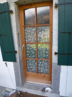 Entourage de porte-fenêtre