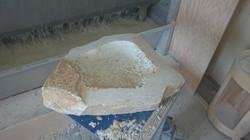 fontaine à oiseau, fabrication