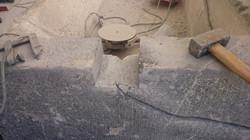 Restauration de fontaine