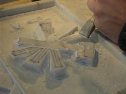 sculpure, relief et ornementation