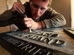 gravure plaque commémorative