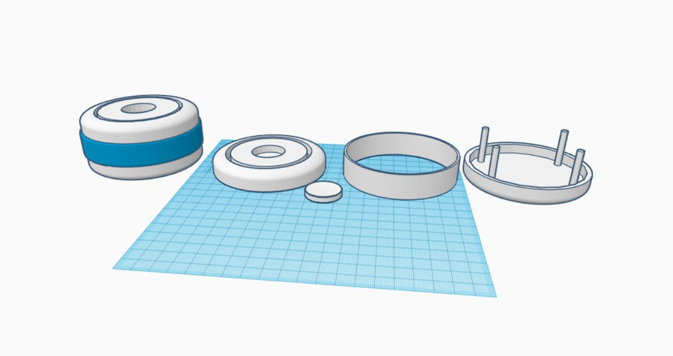 Hardware development has begun!... With the 3d model of the mock-up of GetProductive Alpha (GPA)... What a mouthful!