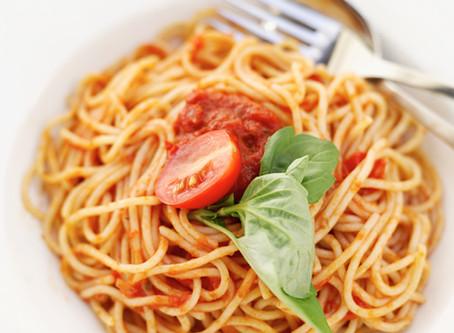 Spaghetti zaterdag 23 maart 2019