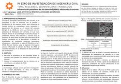Influencia del polietileno de alta densi