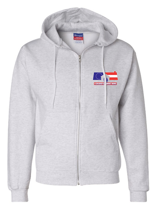 Champion - Full-Zip Hooded Sweatshirt