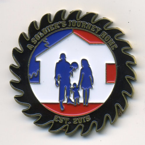 A Soldier's Journey Home Warrior Coin