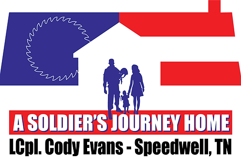 LCpl. Cody Evans Build Bumper Sticker