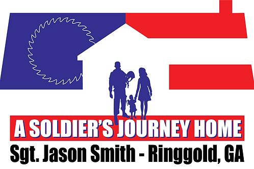 Sgt. Jason Smith Build Bumper Sticker