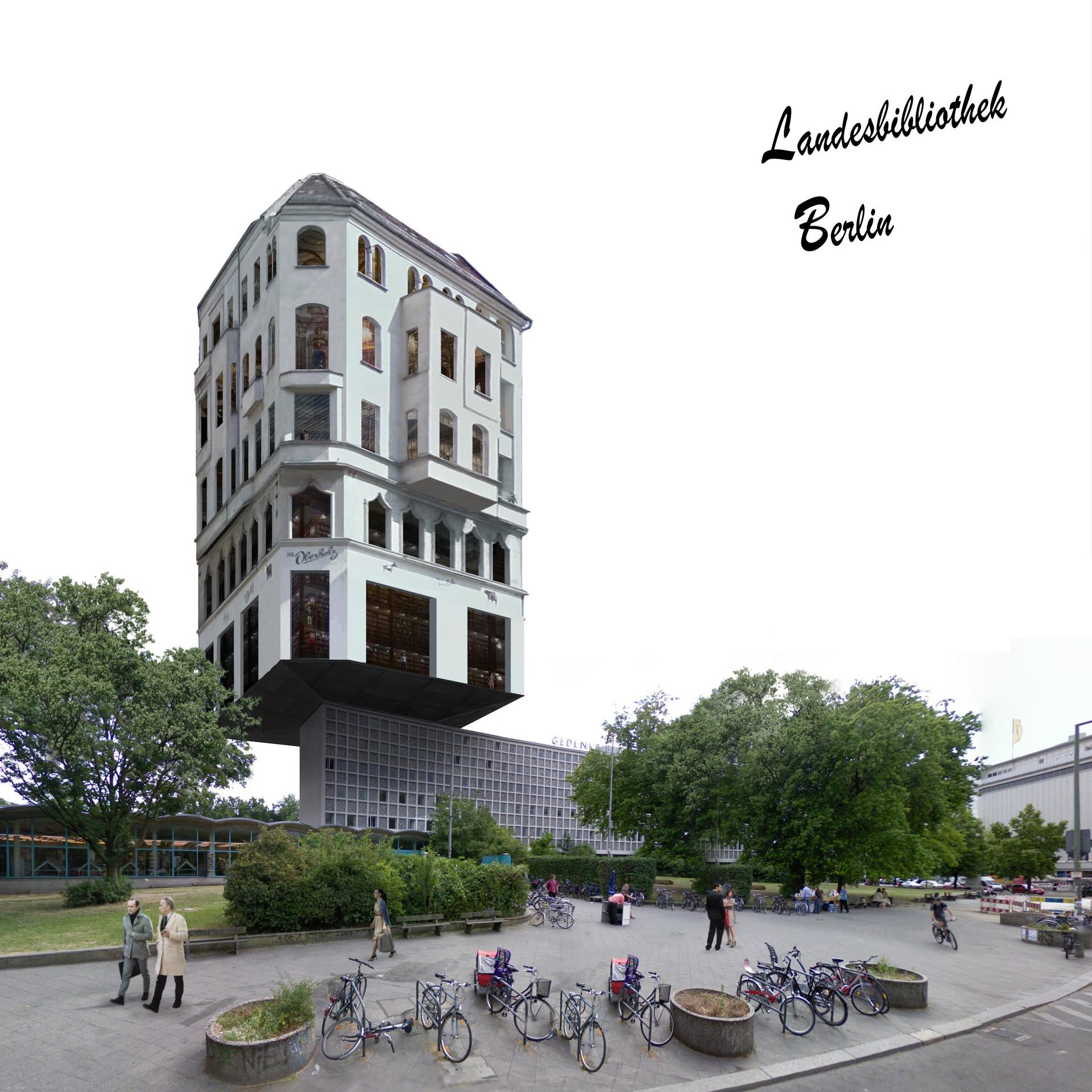 40/40 Stadtbibliothek © Thomas Stadler
