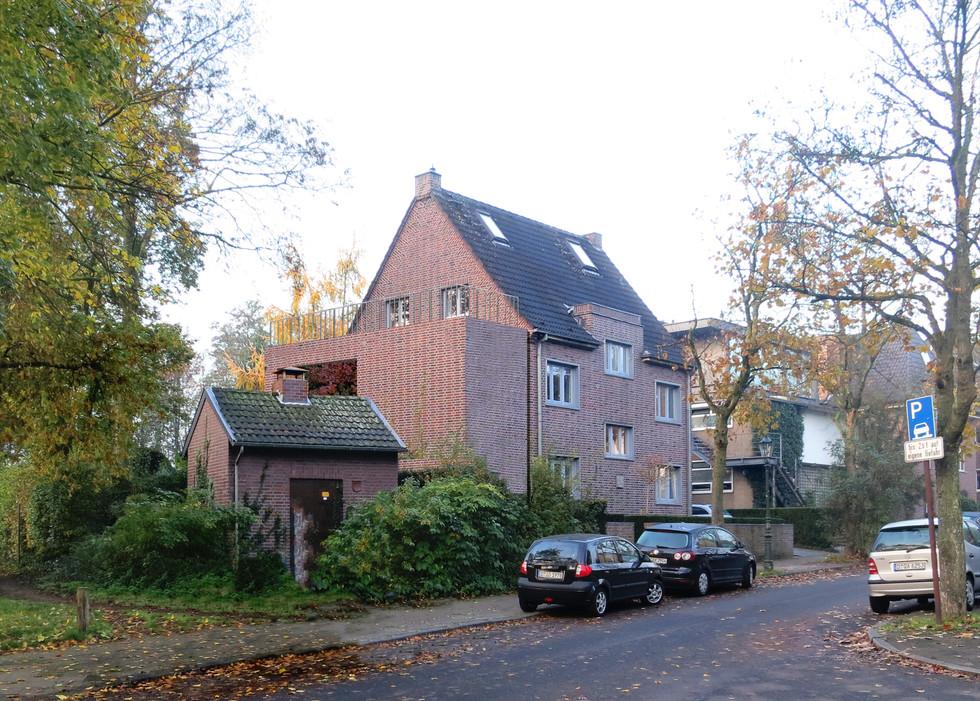 Anbau Düsseldorf Vorstudie
