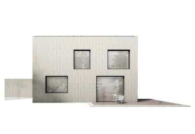 modulares Einfamilienhaus
