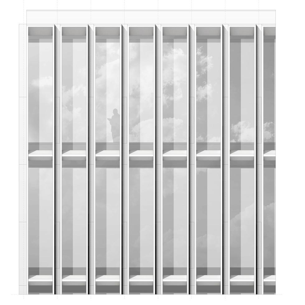 DIN - Gebäude Fassadenwettbewerbeitun © Thomas Stadler