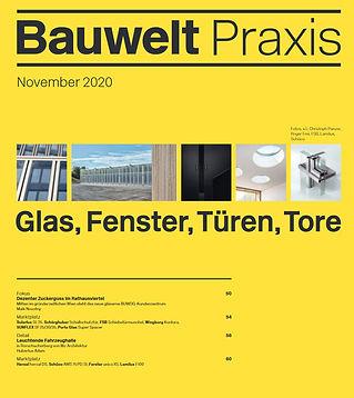 Bauwelt Praxis Rathausstrasse 1, BUWOG Headquater