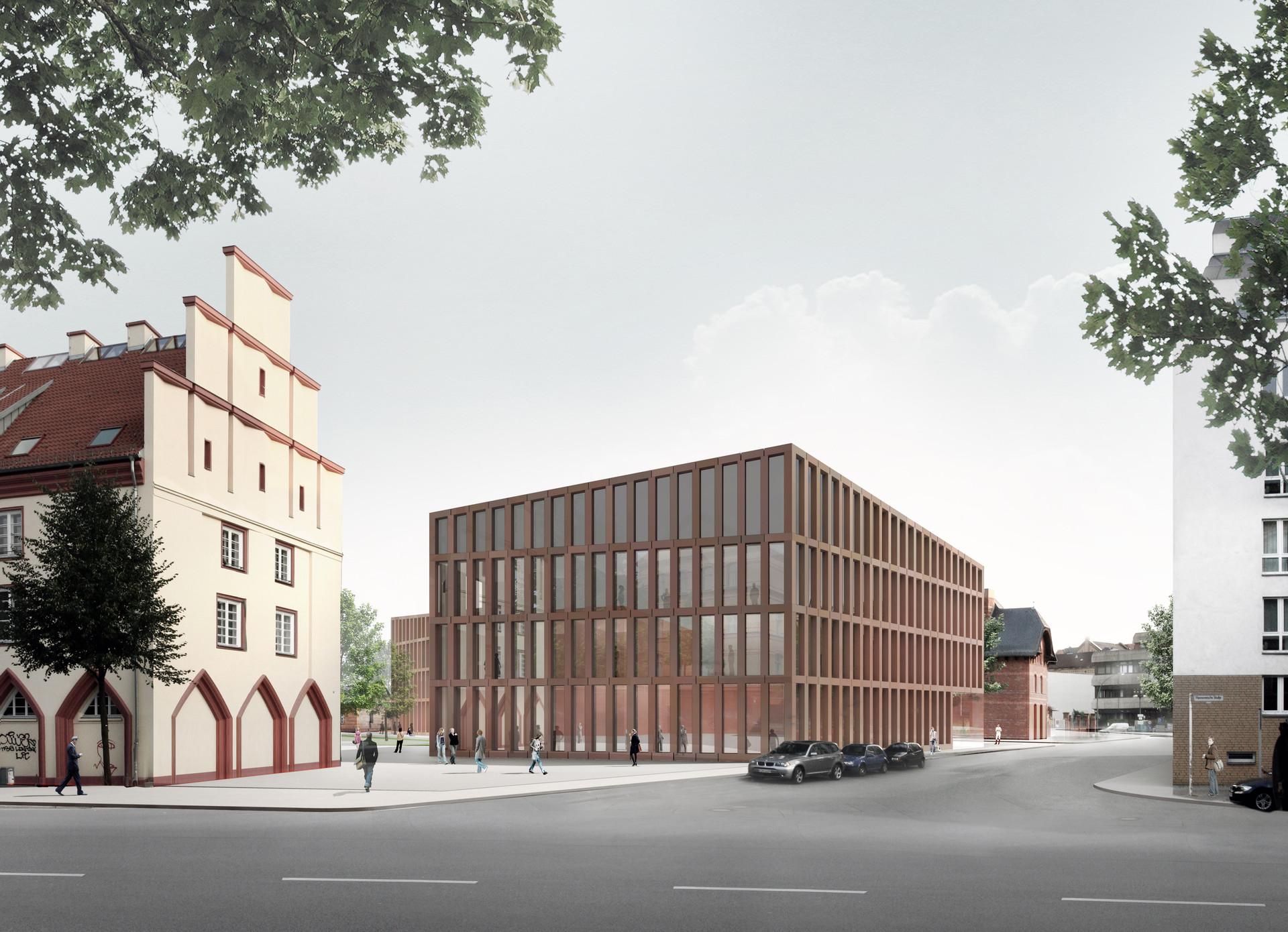 Forschungs- und Laborgebäude für Lebenswissenschaften, HU- Campus Nord, Berlin