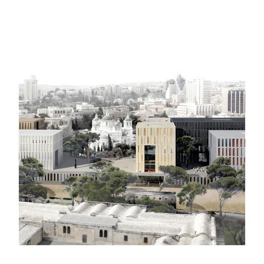 TOWERS OF BEZALAL JERUSALEM